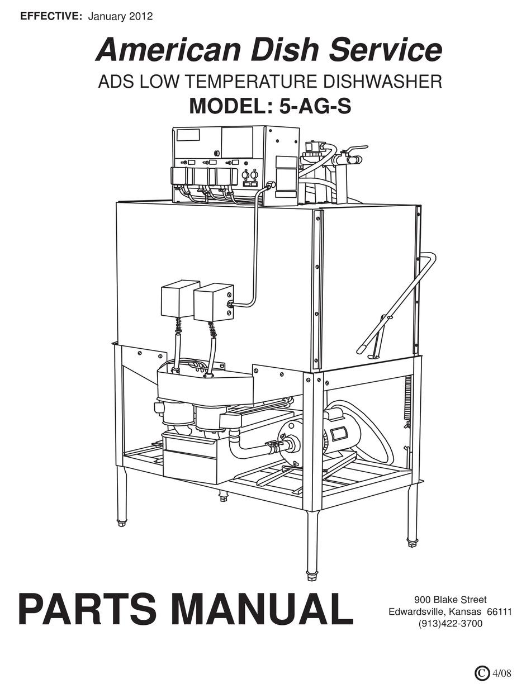AMERICAN DISH SERVICE 5-AG-S PARTS MANUAL Pdf Download   ManualsLib   Ads Dish Machine Wiring Diagram      ManualsLib
