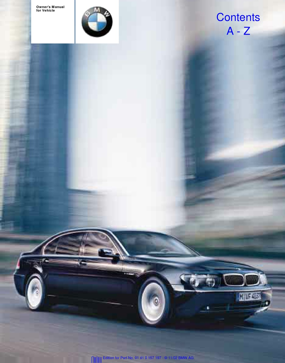 BMW 745I OWNER'S MANUAL Pdf Download | ManualsLib | Wiring Schematics E65 Bmw |  | ManualsLib