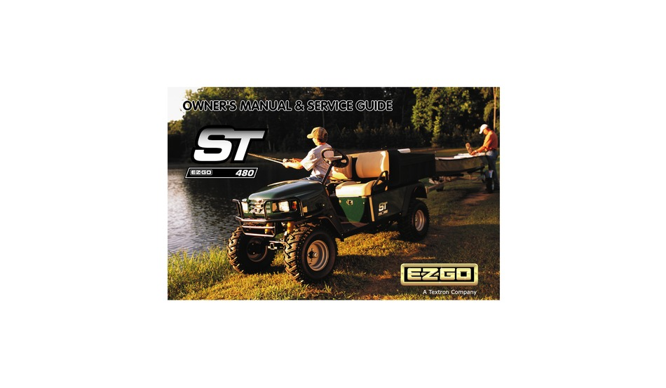 E Z Go St 480 Owner S And Service Manual Pdf Download Manualslib