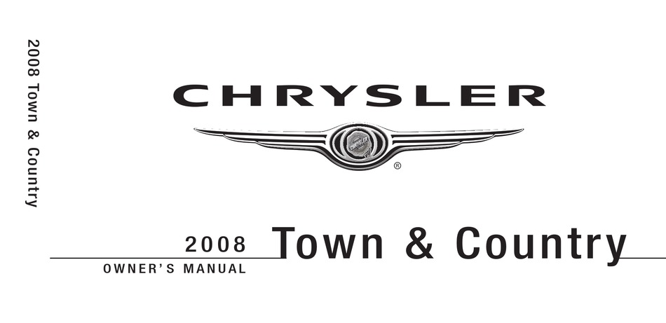 Chrysler Town And Country Owner S Manual Pdf Download Manualslib