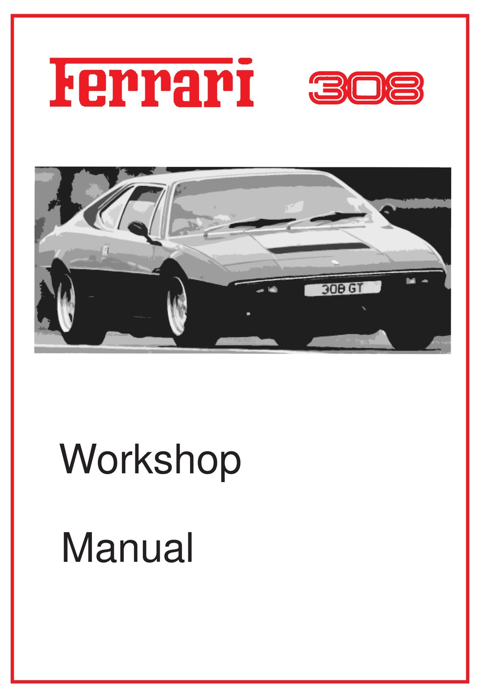Ferrari Dino 308 Gt4 Workshop Manual Pdf Download Manualslib
