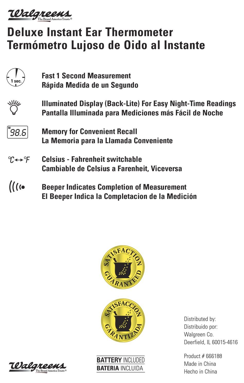 Walgreens Ir1da1 Instruction Manual Pdf Download Manualslib Adquira o seu agora clicando no botão comprar agora. walgreens ir1da1 instruction manual pdf
