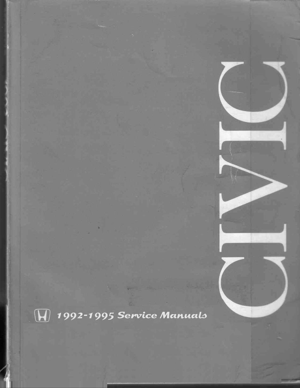 honda civic service manual pdf download | manualslib  manualslib