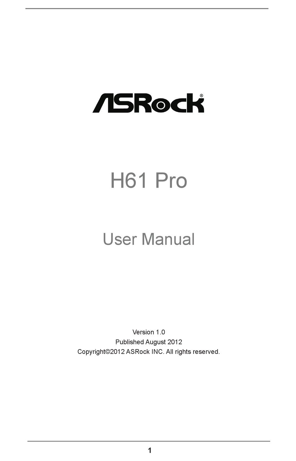 h61 pro btc driver)