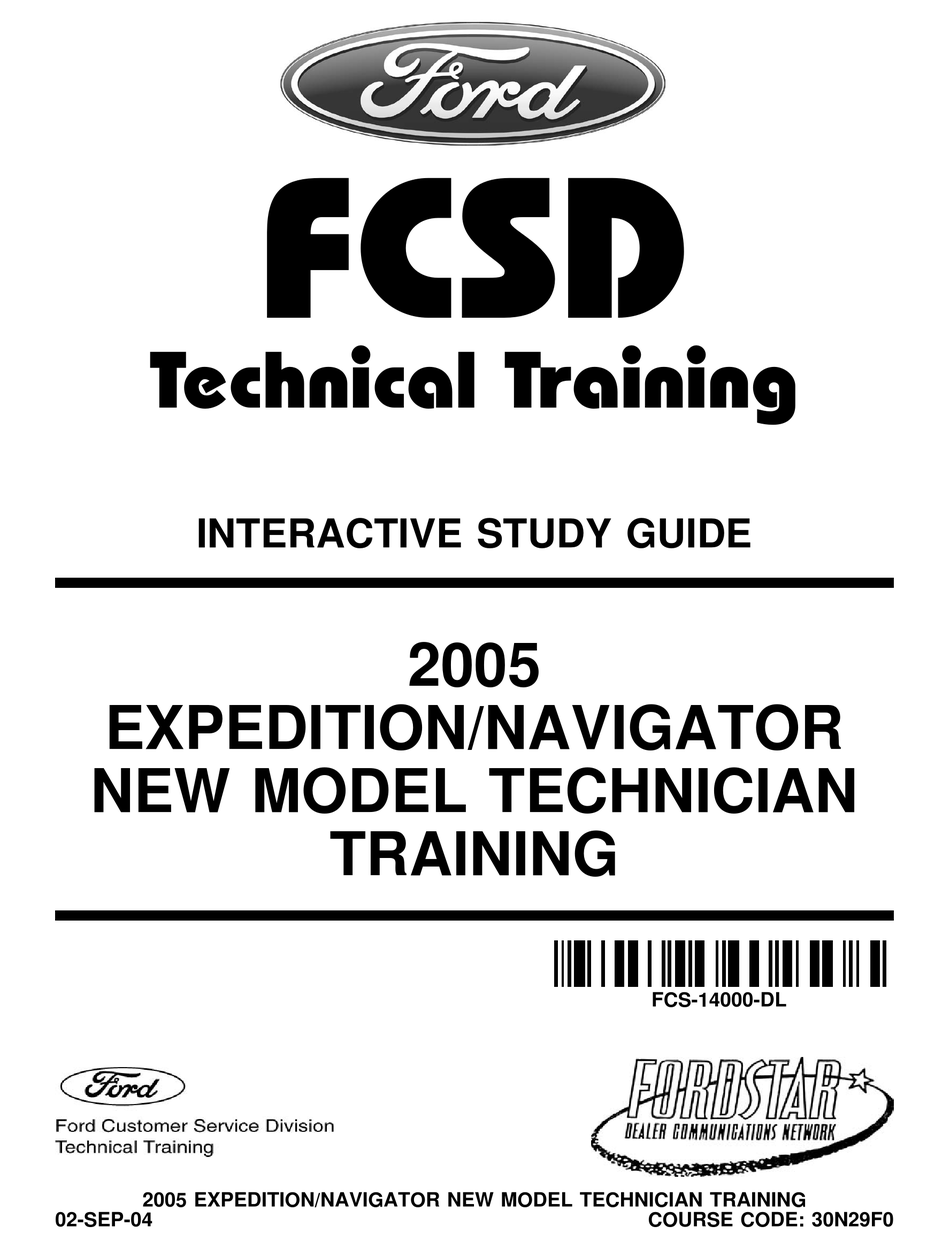 Ford Expedition 2005 Technical Training Manual Pdf Download Manualslib