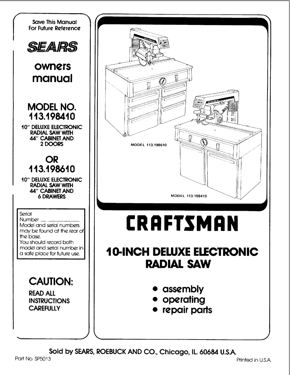 Tools Work Equipment Details, Craftsman Floor Cabinet Assembly Instructions
