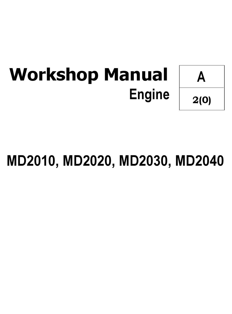 VOLVO MD2010 WORKSHOP MANUAL Pdf Download | ManualsLib | Volvo Penta Md2030 Wiring Diagram |  | ManualsLib