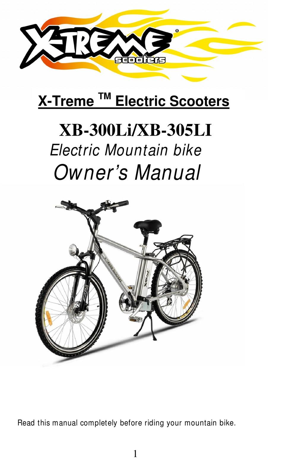 X-TREME XB-300LI OWNER'S MANUAL Pdf Download | ManualsLib | Xb 600 Xtreme Wiring Diagram |  | ManualsLib
