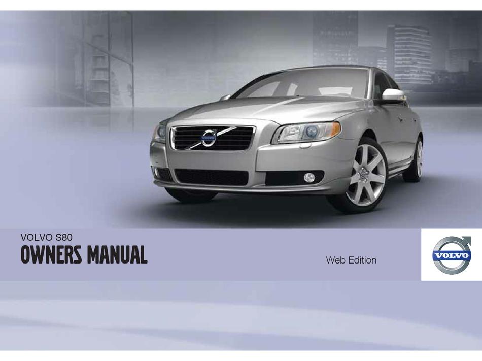 volvo s80 owner's manual pdf download | manualslib  manualslib