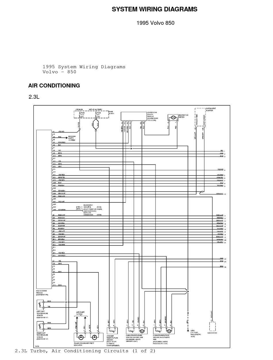 Volvo Wiring Diagram 40   cater seize The Wiring Diagram   cater ...