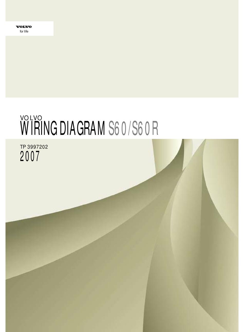 VOLVO S60 WIRING DIAGRAM Pdf Download | ManualsLib | 2007 Volvo S60 Wiring Diagram |  | ManualsLib