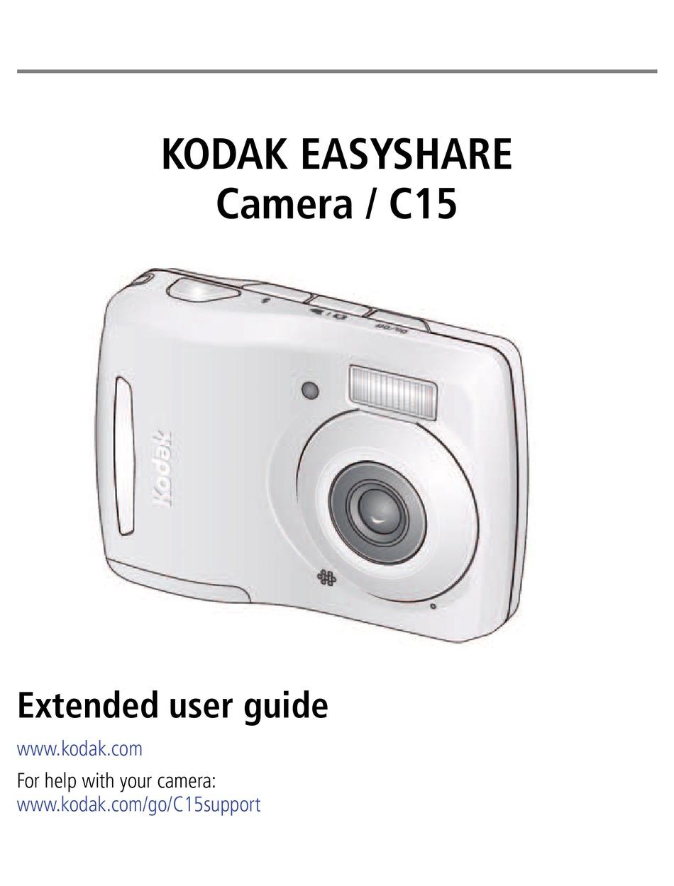 Kodak Easyshare C15 User Manual Pdf Download Manualslib