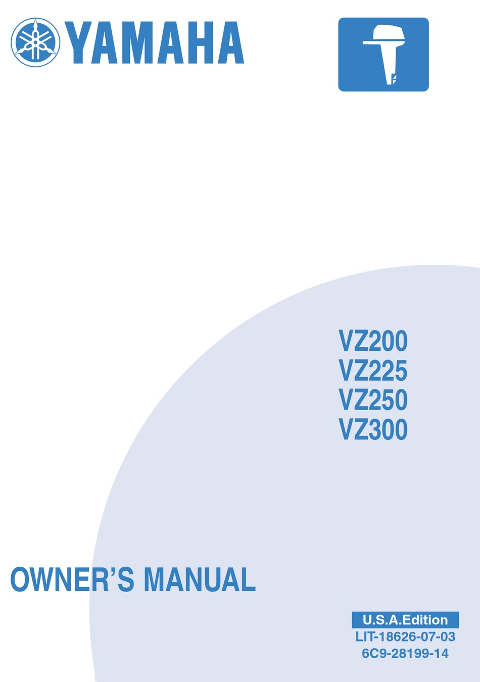 Yamaha Vz200 Owner S Manual Pdf Download Manualslib