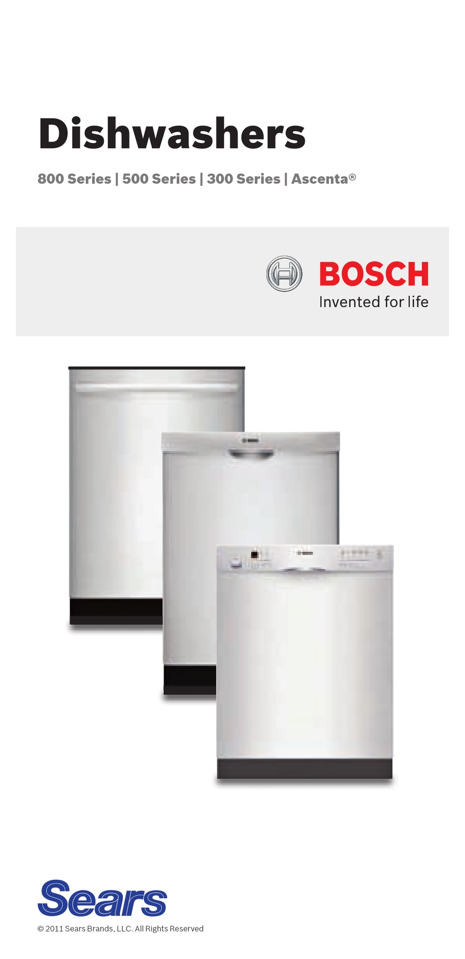 Bosch 800 Series Instructions For Use Manual Pdf Download Manualslib