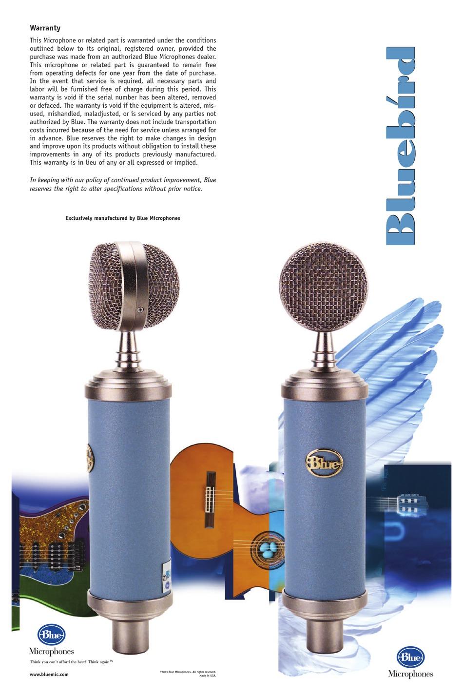 BLUE BLUEBIRD USER MANUAL Pdf Download | ManualsLib