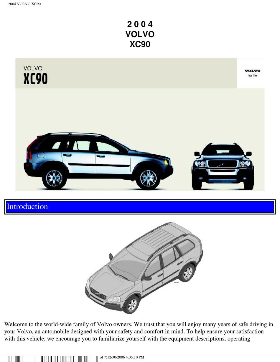 VOLVO XC40 40 OWNER'S MANUAL Pdf Download   ManualsLib