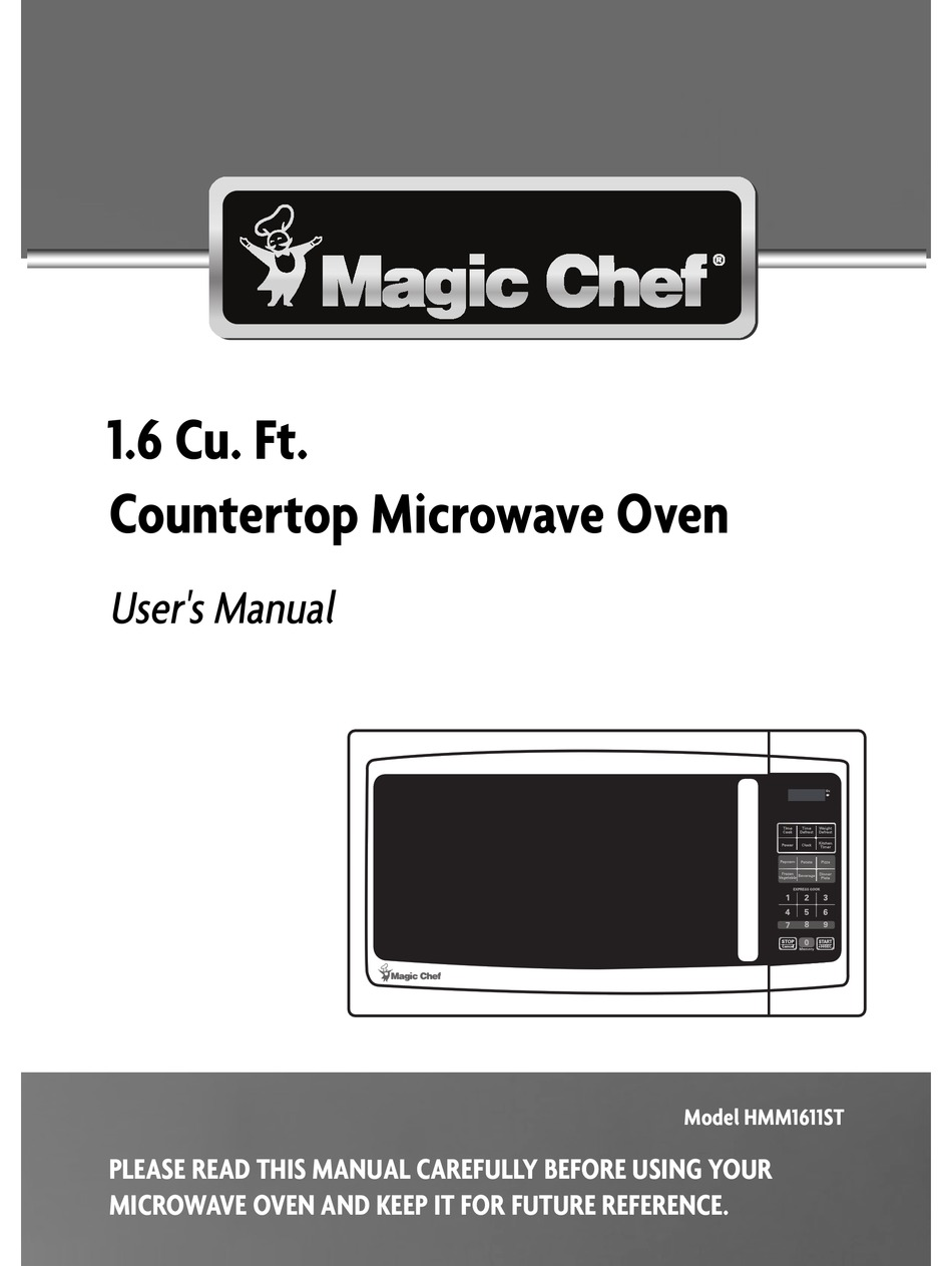 Magic Chef Hmm1611st User Manual Pdf