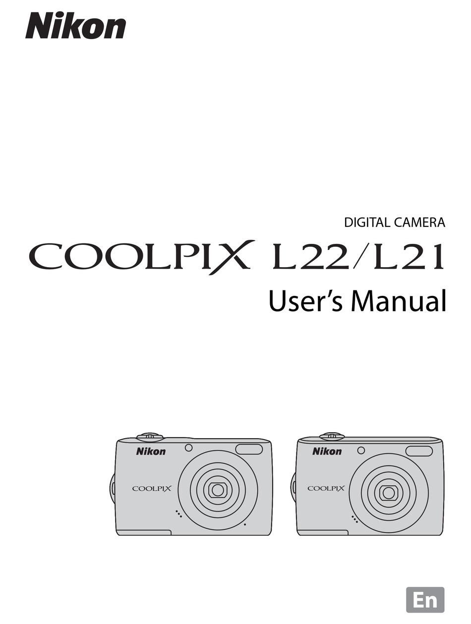Nikon Coolpix L22 User Manual Pdf Download Manualslib