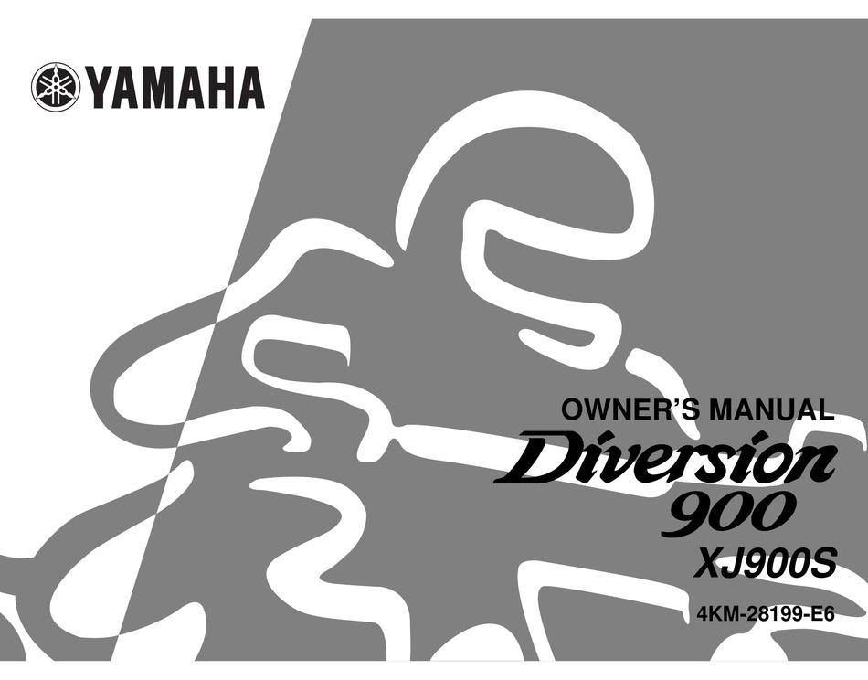 Yamaha Diversion 900 Owner S Manual Pdf Download Manualslib