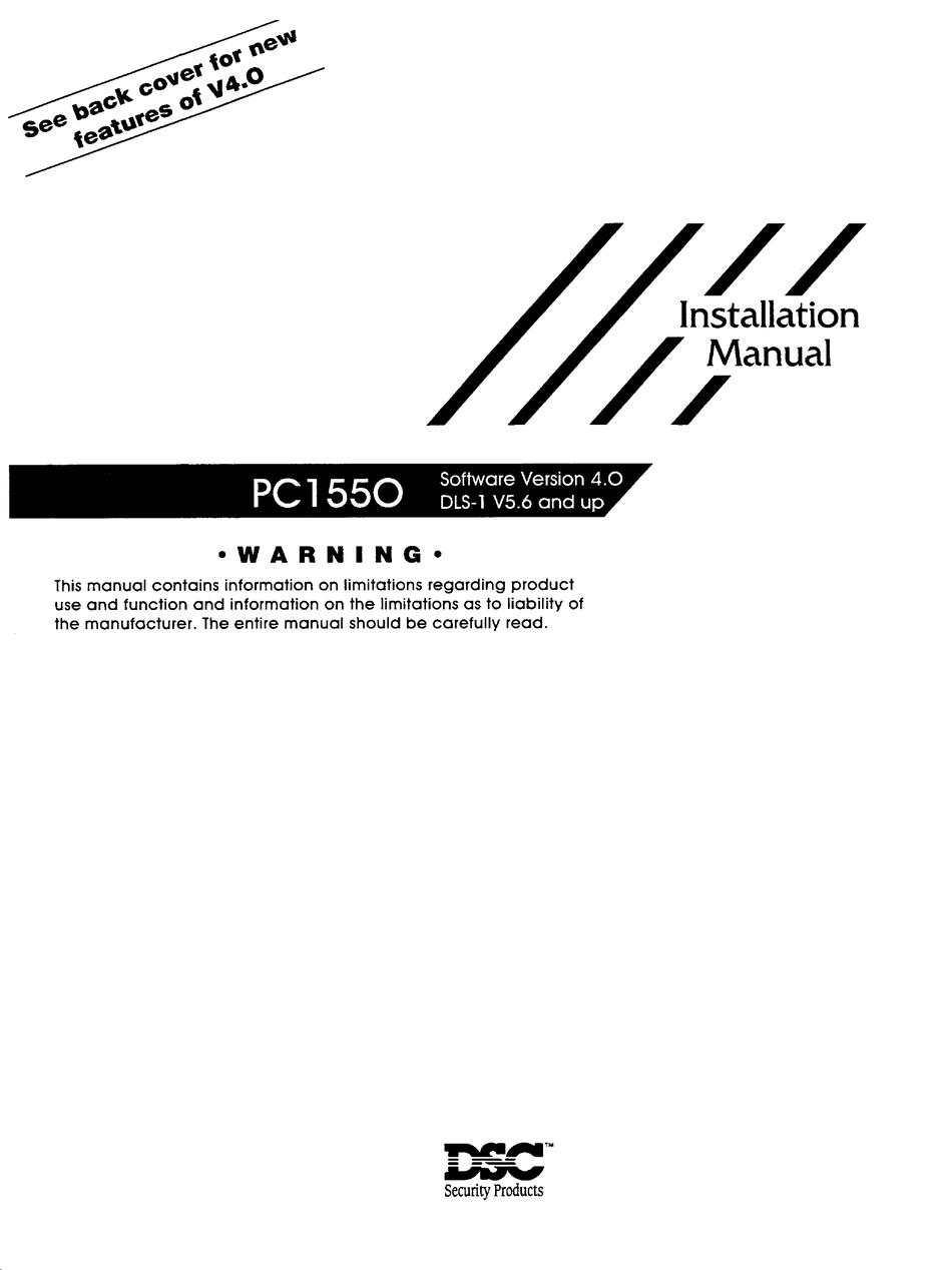 DSC PC1550 INSTALLATION MANUAL Pdf Download | ManualsLib | Dsc Security System Wiring Diagram 1550 |  | ManualsLib