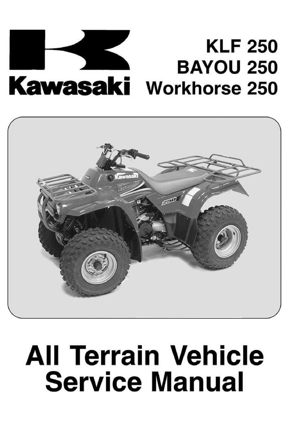 For Kawasaki KLF 250 A3 Oil Filter 2005