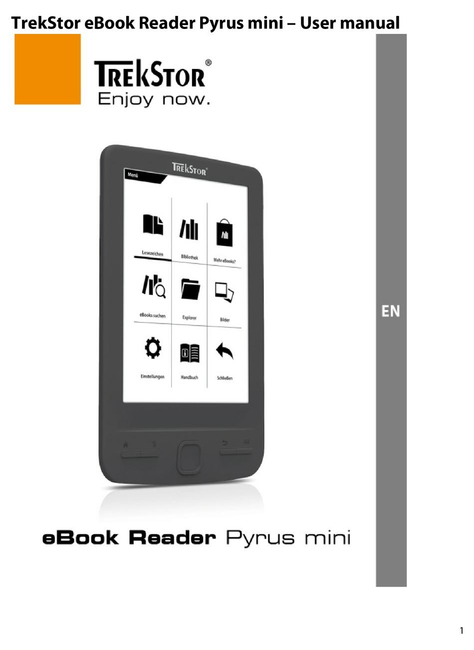 Trekstor Pyrus Mini User Manual Pdf Download Manualslib