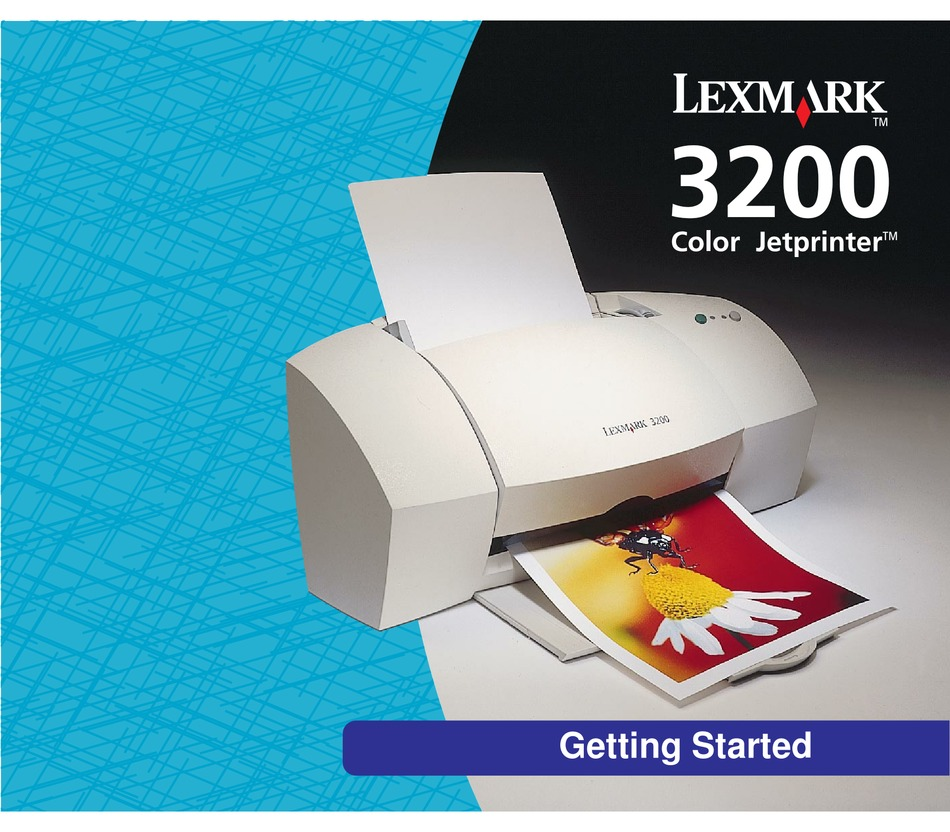 Lexmark 3200 Getting Started Manual Pdf Download Manualslib