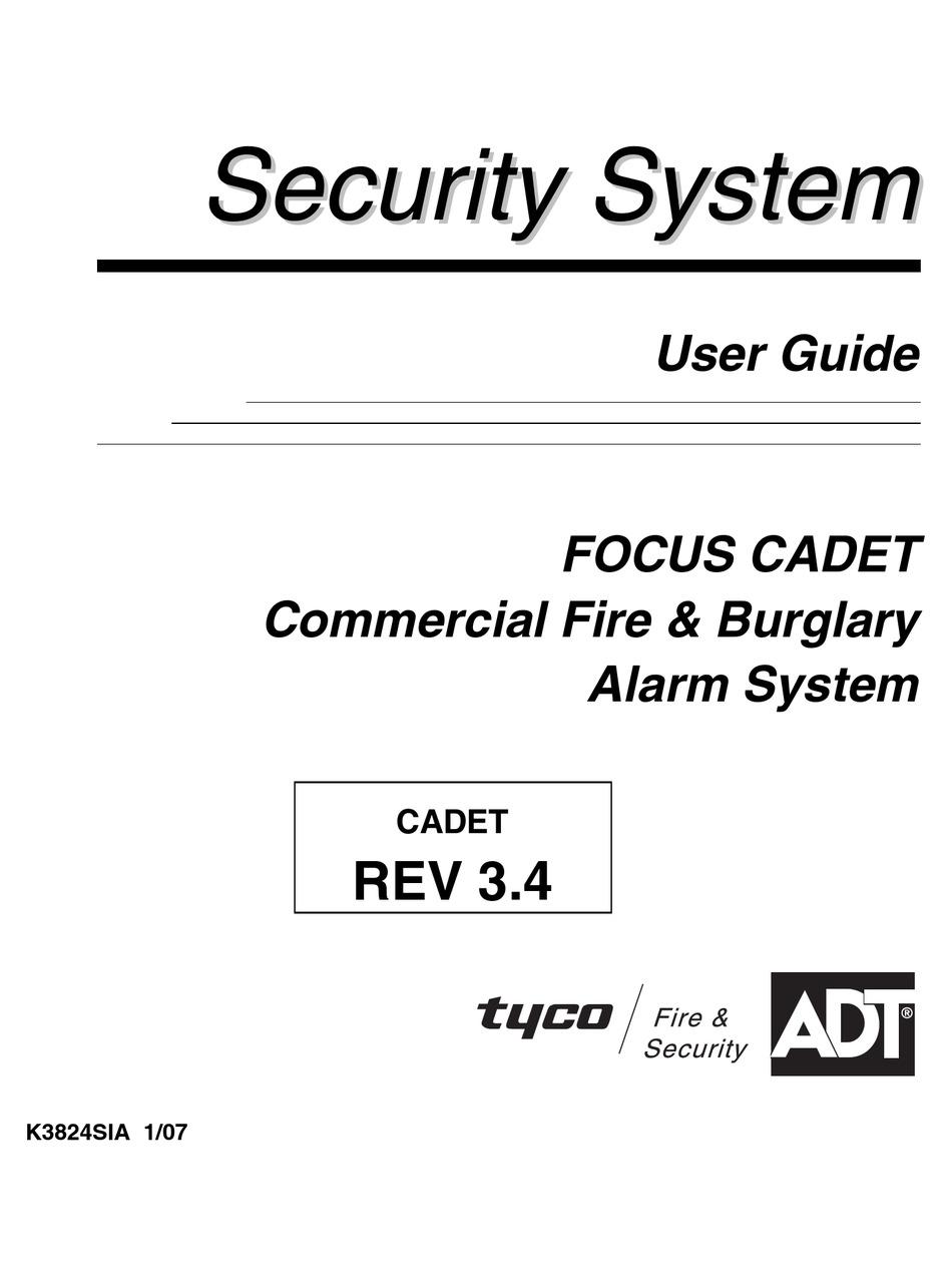 ADT FOCUS CADET USER MANUAL Pdf Download | ManualsLib | Adt Focus 200 Wiring Diagram |  | ManualsLib