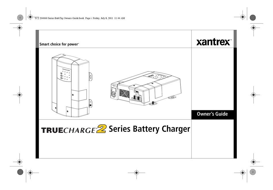 XANTREX TRUECHARGE2 OWNER'S MANUAL Pdf Download | ManualsLib | Xantrex Battery Charger Wiring Diagram |  | ManualsLib