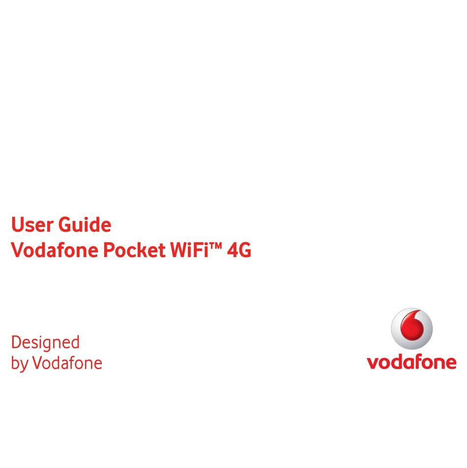 vodafone pocket wifi 4g user manual pdf download | manualslib  manualslib