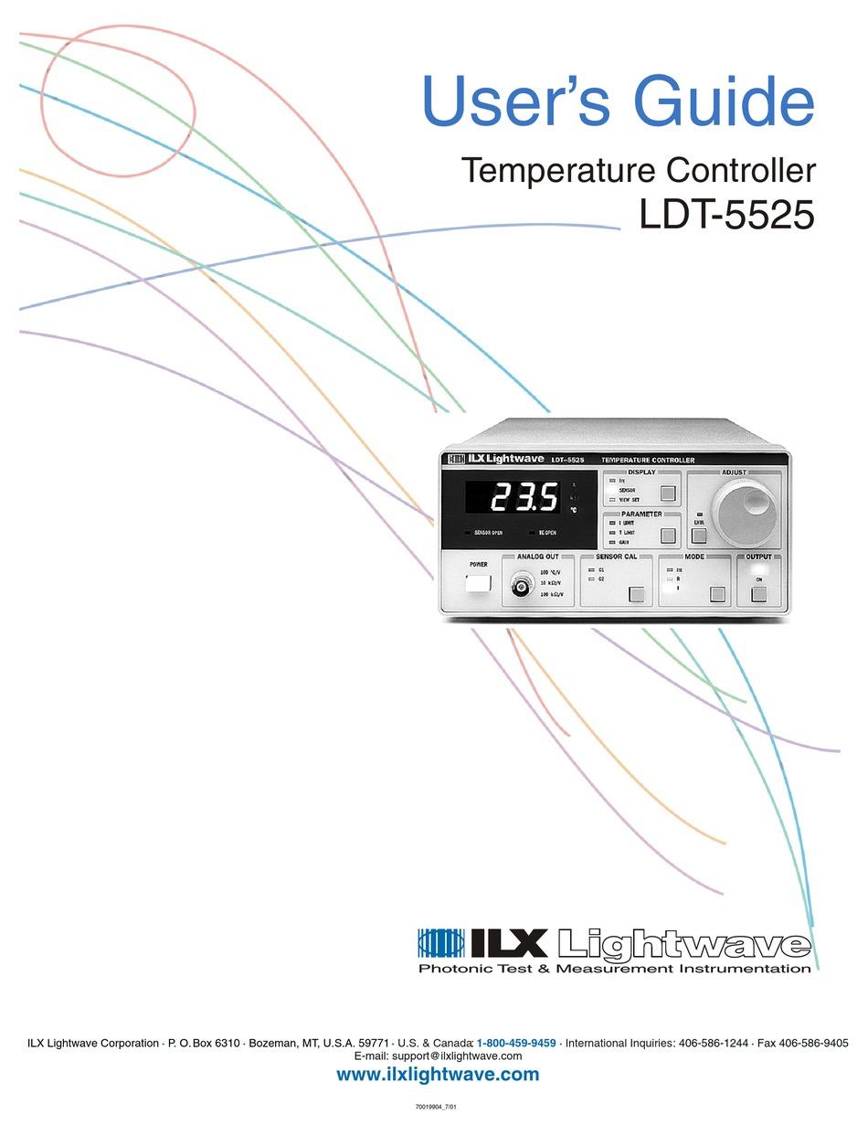 ILX LIGHTWAVE LDT-5412 TEMERATURE CONTROLER