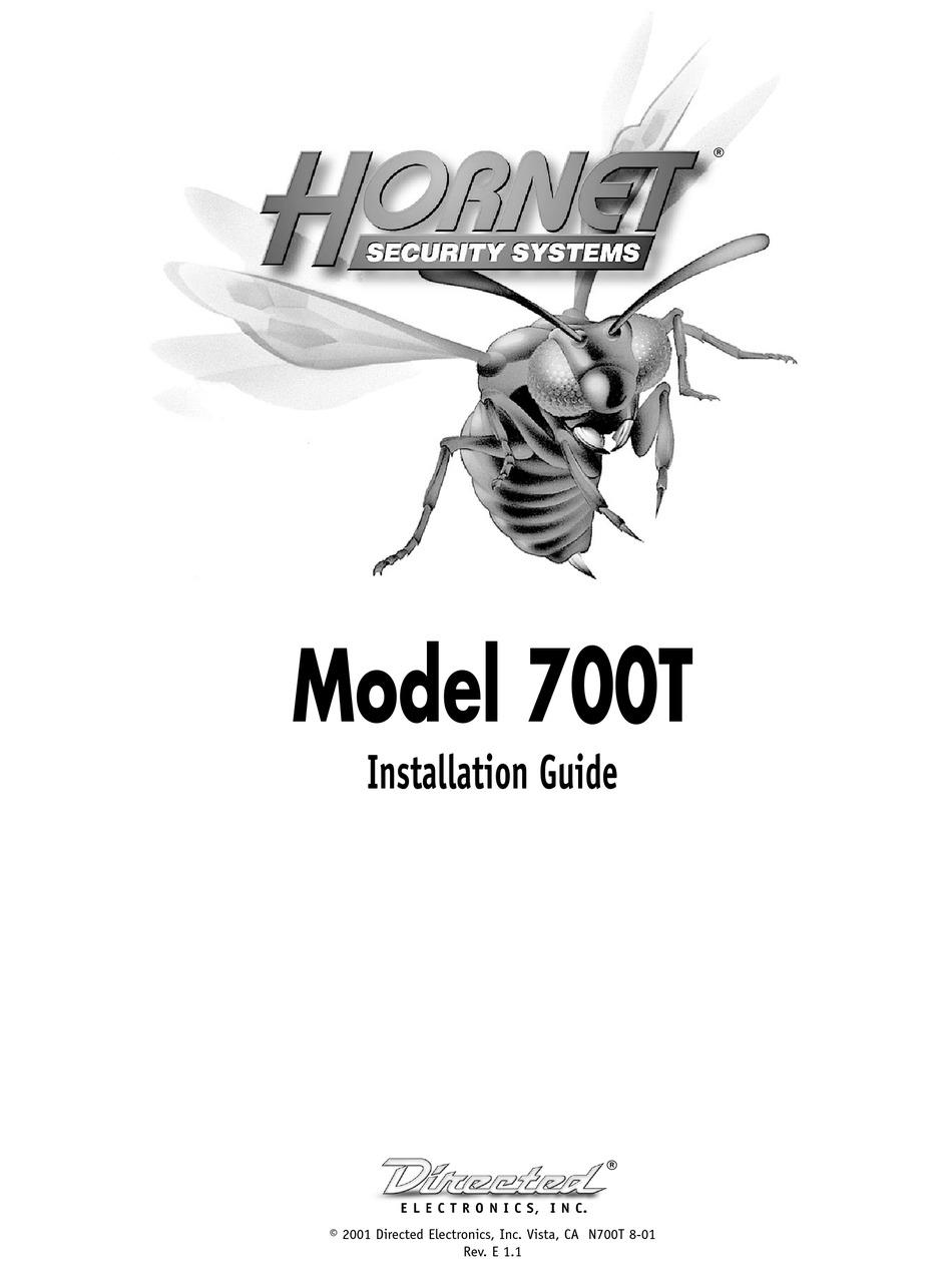 HORNET 700T INSTALLATION MANUAL Pdf Download | ManualsLib | Code Alarms Wiring Diagram For Hornet |  | ManualsLib