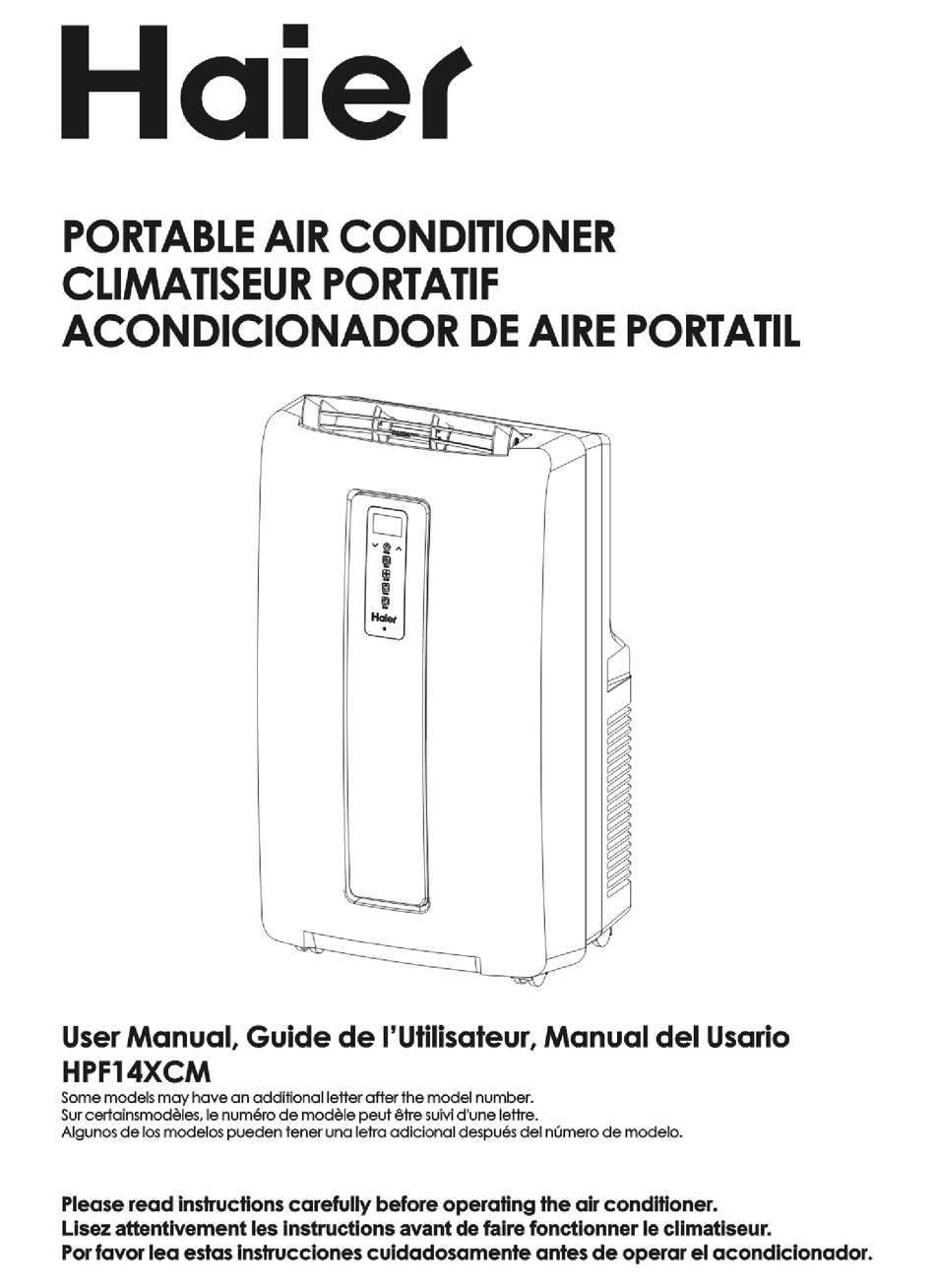 Haier Hpf14xcm User Manual Pdf Download Manualslib