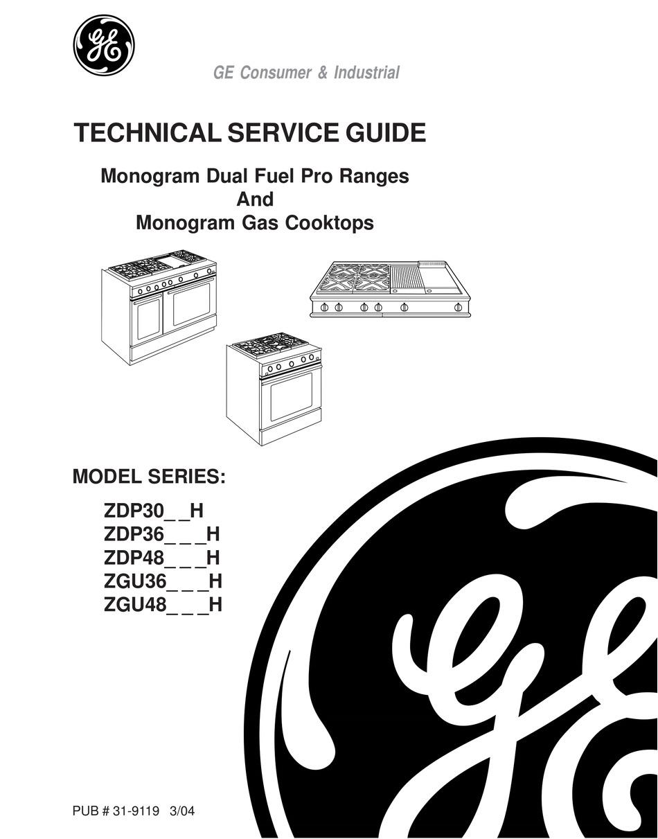 GE MONOGRAM ZDP30_ _H TECHNICAL SERVICE MANUAL Pdf Download | ManualsLib | Ge Monogram Stove Wiring Diagram |  | ManualsLib