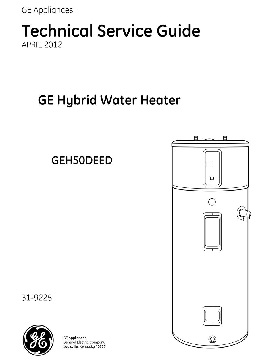 GE GEH50DEED TECHNICAL SERVICE MANUAL Pdf Download | ManualsLib | Ge Hybrid Water Heater Wiring Diagram |  | ManualsLib