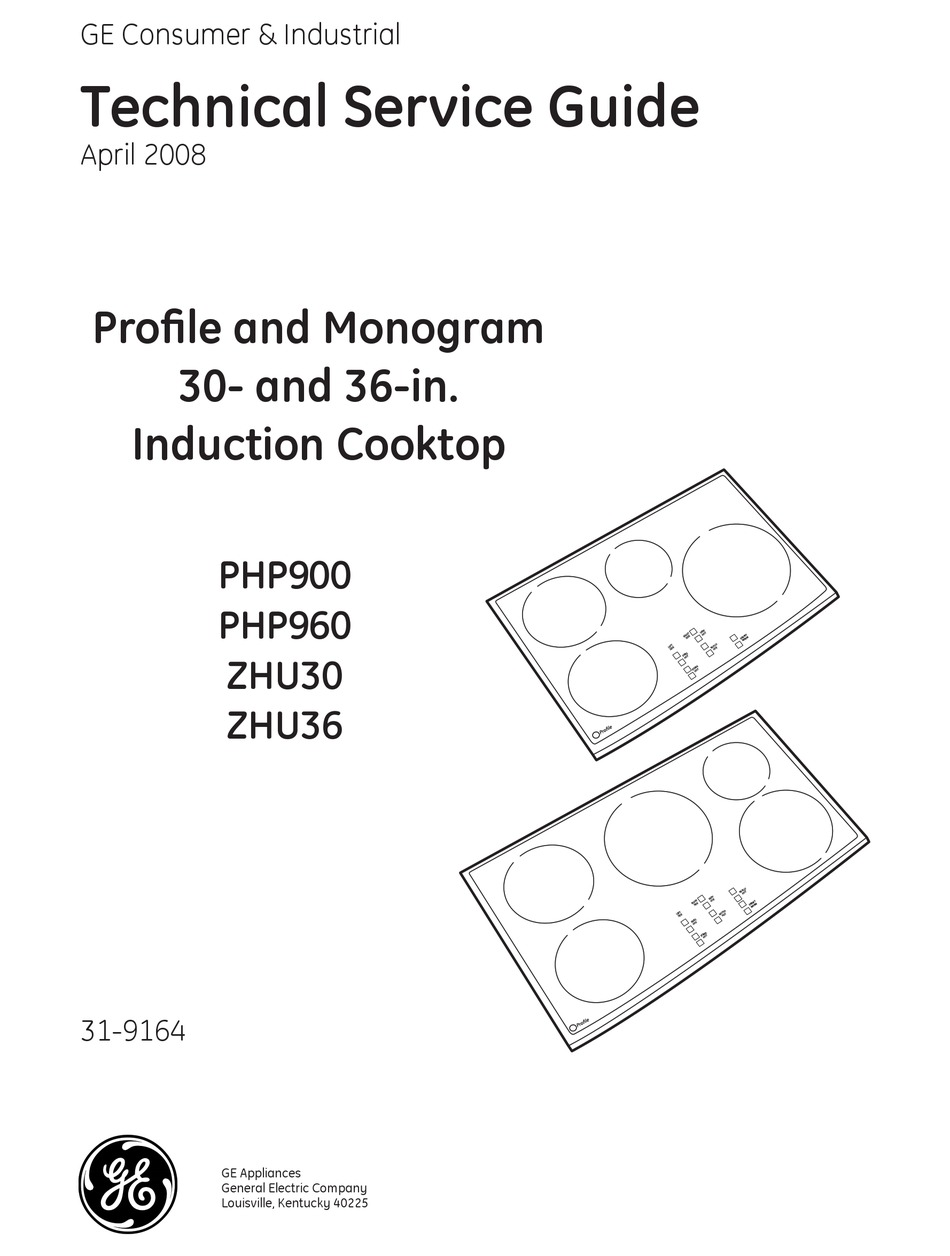 GE PROFILE PHP900 TECHNICAL SERVICE MANUAL Pdf Download   ManualsLib   Ge Induction Cooktop Schematic      ManualsLib