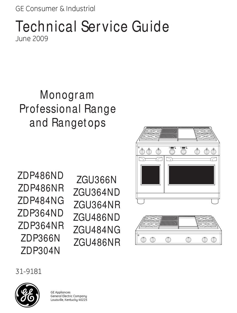 GE MONOGRAM ZDP486ND TECHNICAL SERVICE MANUAL Pdf Download | ManualsLib | Ge Monogram Stove Wiring Diagram |  | ManualsLib