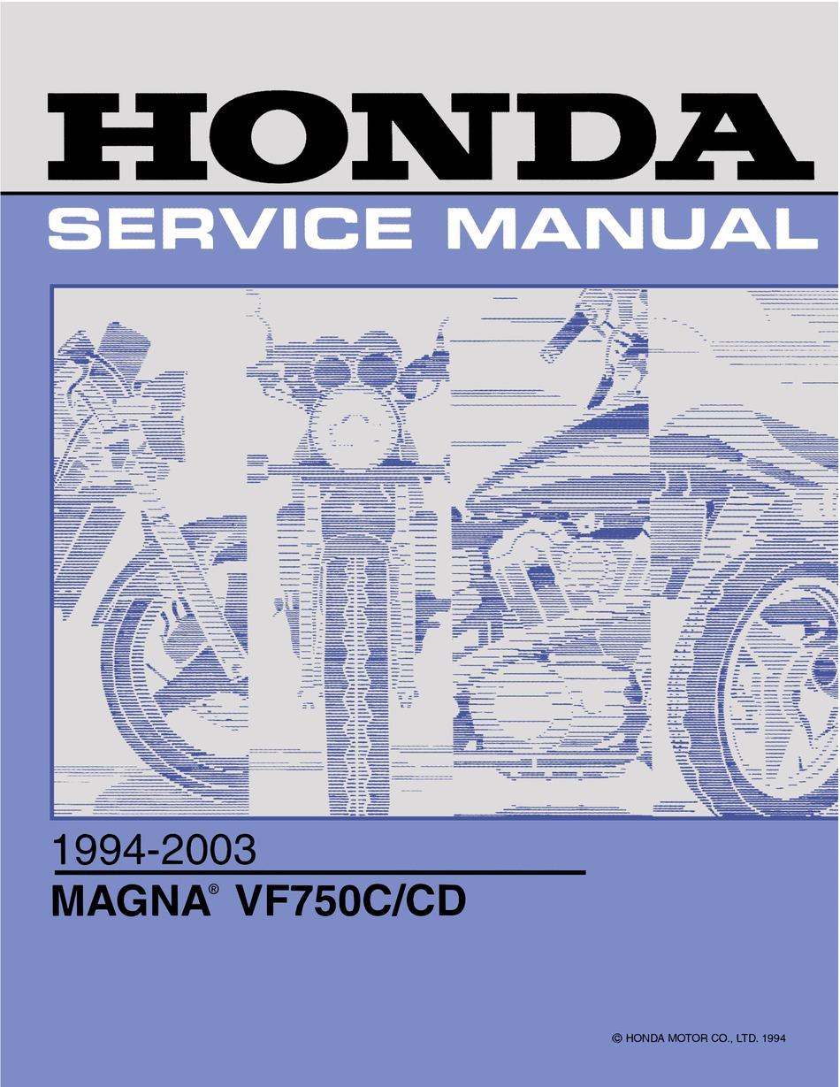 honda magna vf750c service manual pdf download | manualslib  manualslib