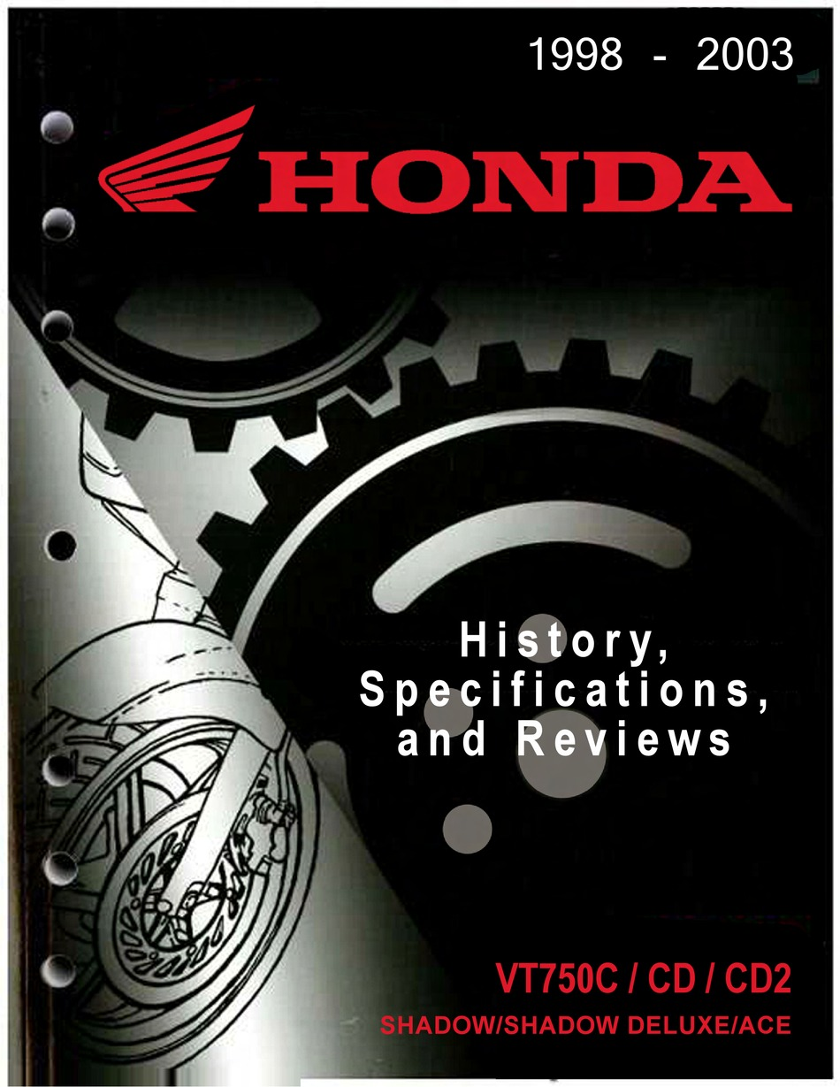 Honda Vt750c Specifications And Review Pdf Download Manualslib