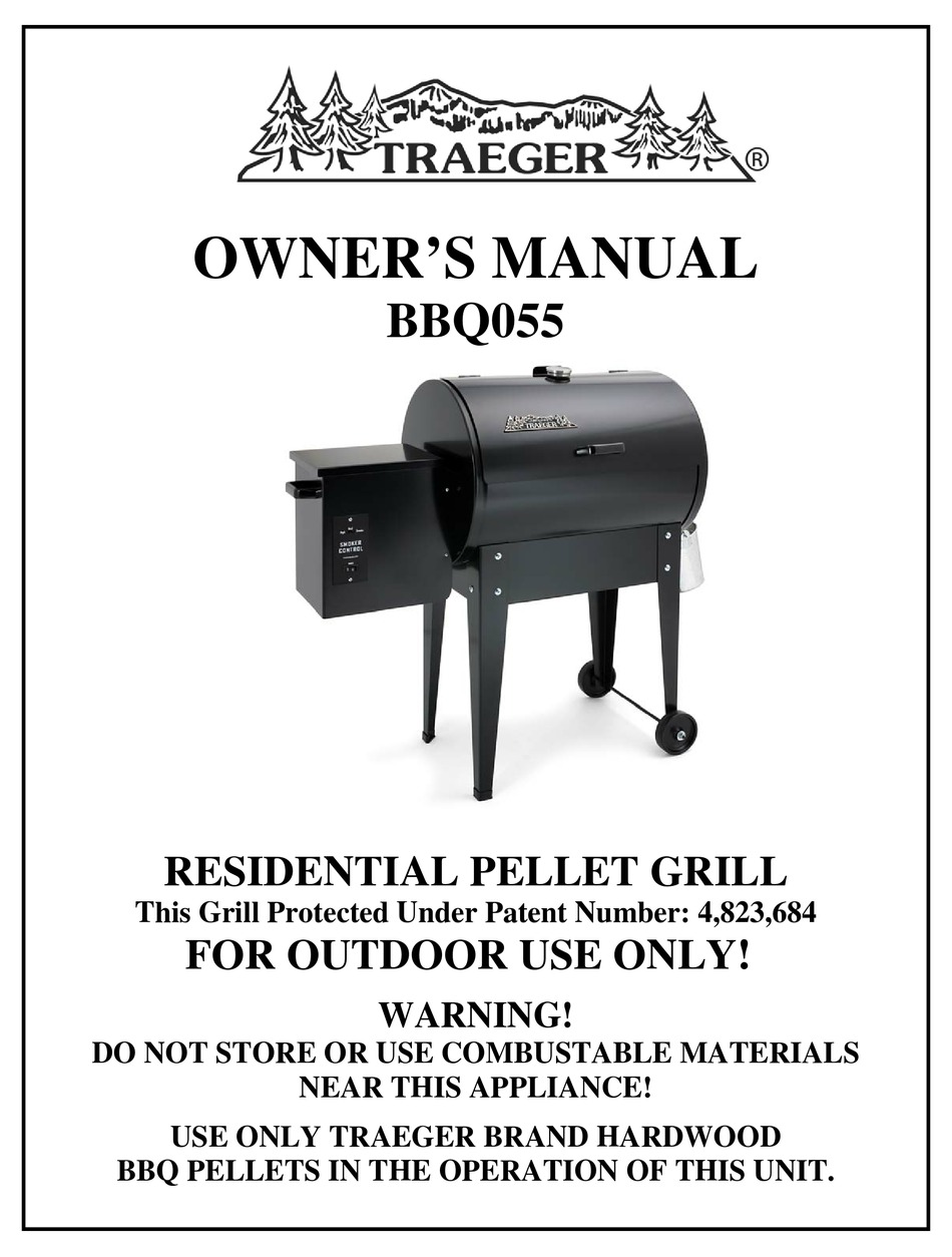 TRAEGER BBQ055 OWNER'S MANUAL Pdf Download | ManualsLib | Bbq 055 Smoker Wiring Diagram |  | ManualsLib