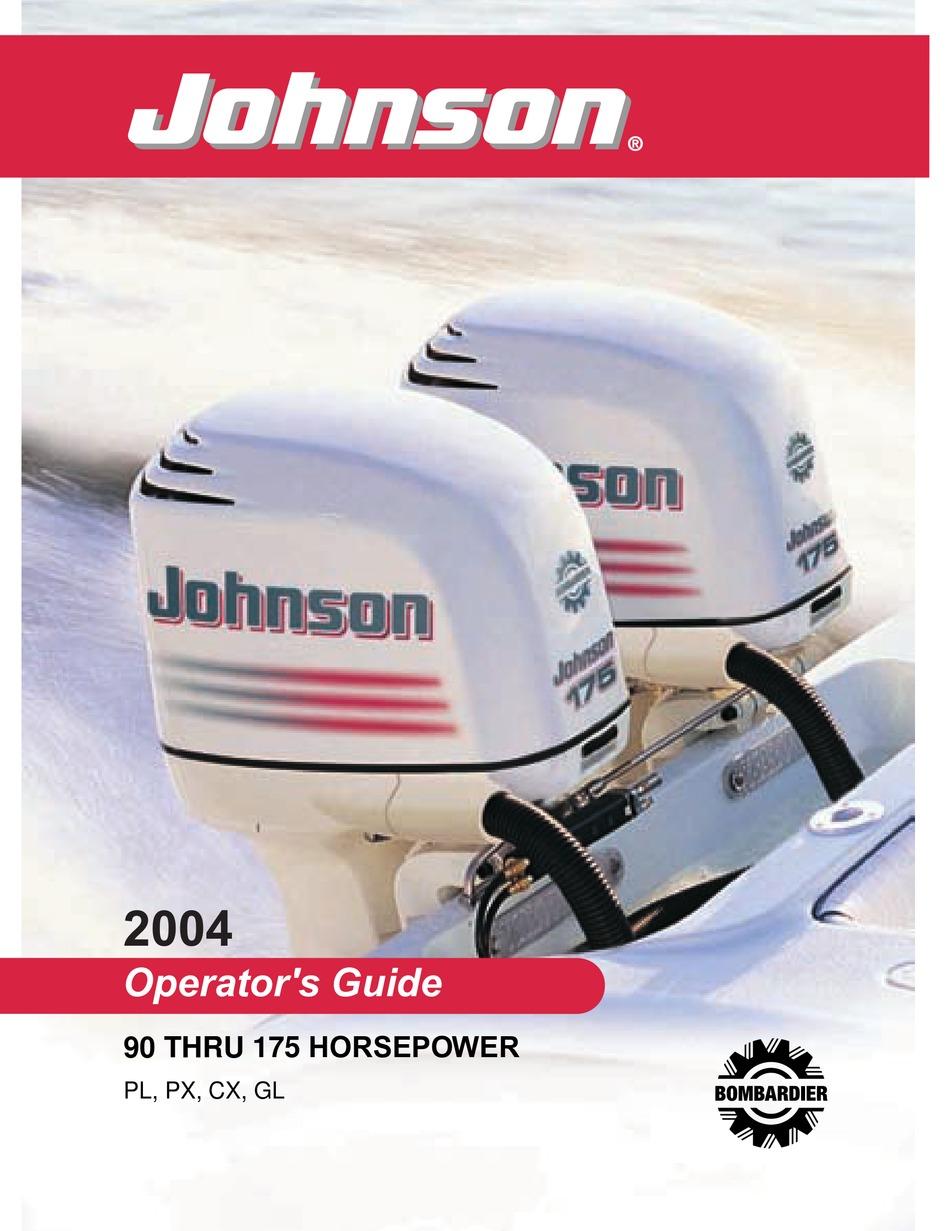 Johnson Pl Operator S Manual Pdf Download Manualslib