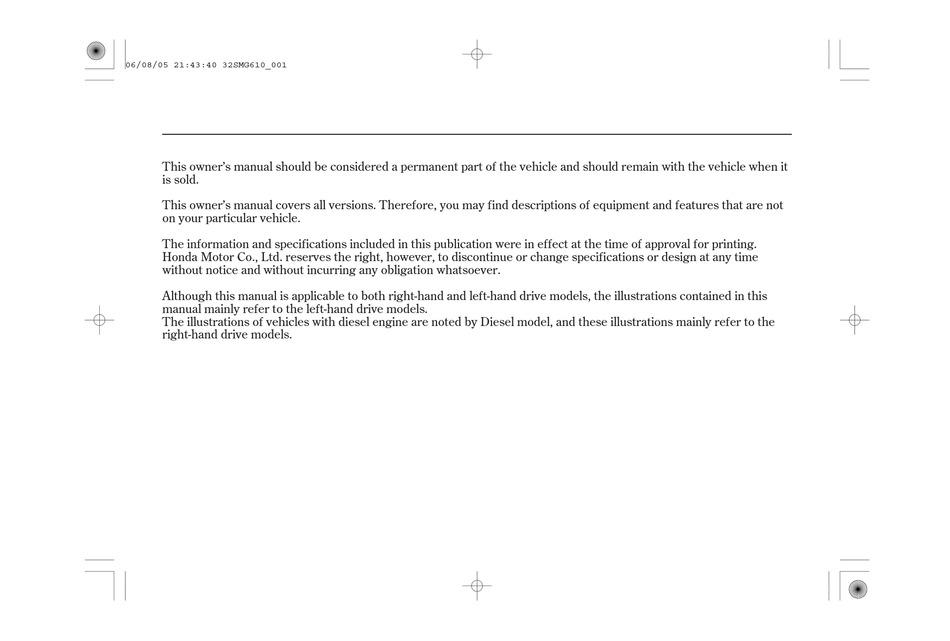 honda civic owner's manual pdf download   manualslib  manualslib