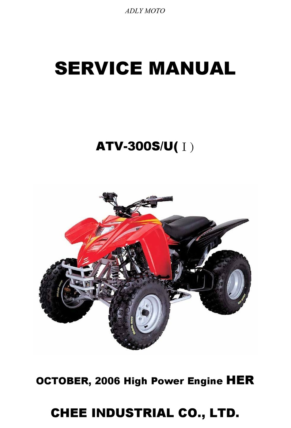 ADLY MOTO ATV-300 SERVICE MANUAL Pdf Download   ManualsLib   Adly Atv Wiring Diagram      ManualsLib
