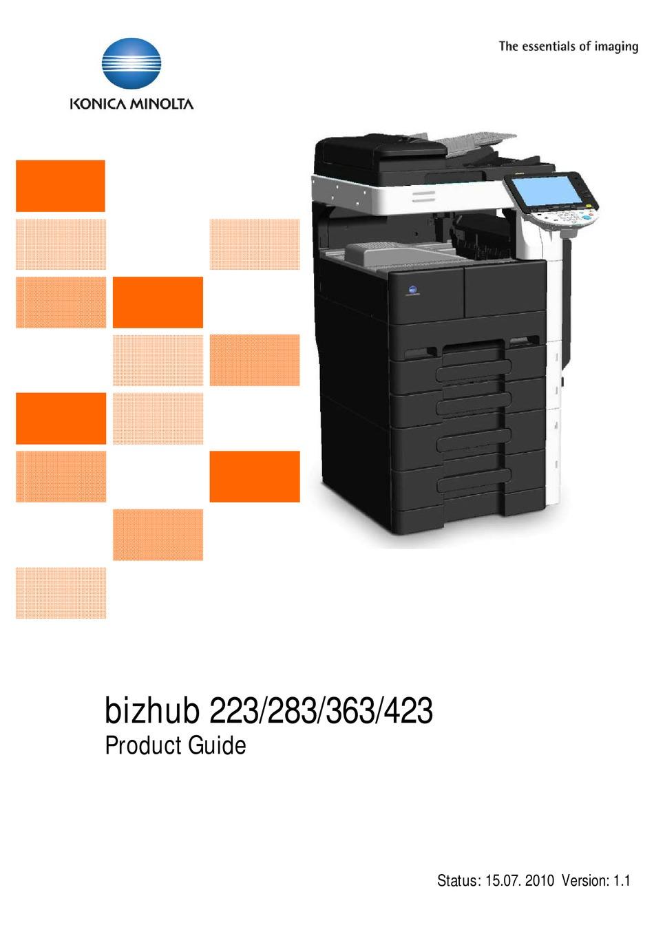 KONICA MINOLTA fax KIT FK-508 for BH 223 BH 283 BH 363 BH 423