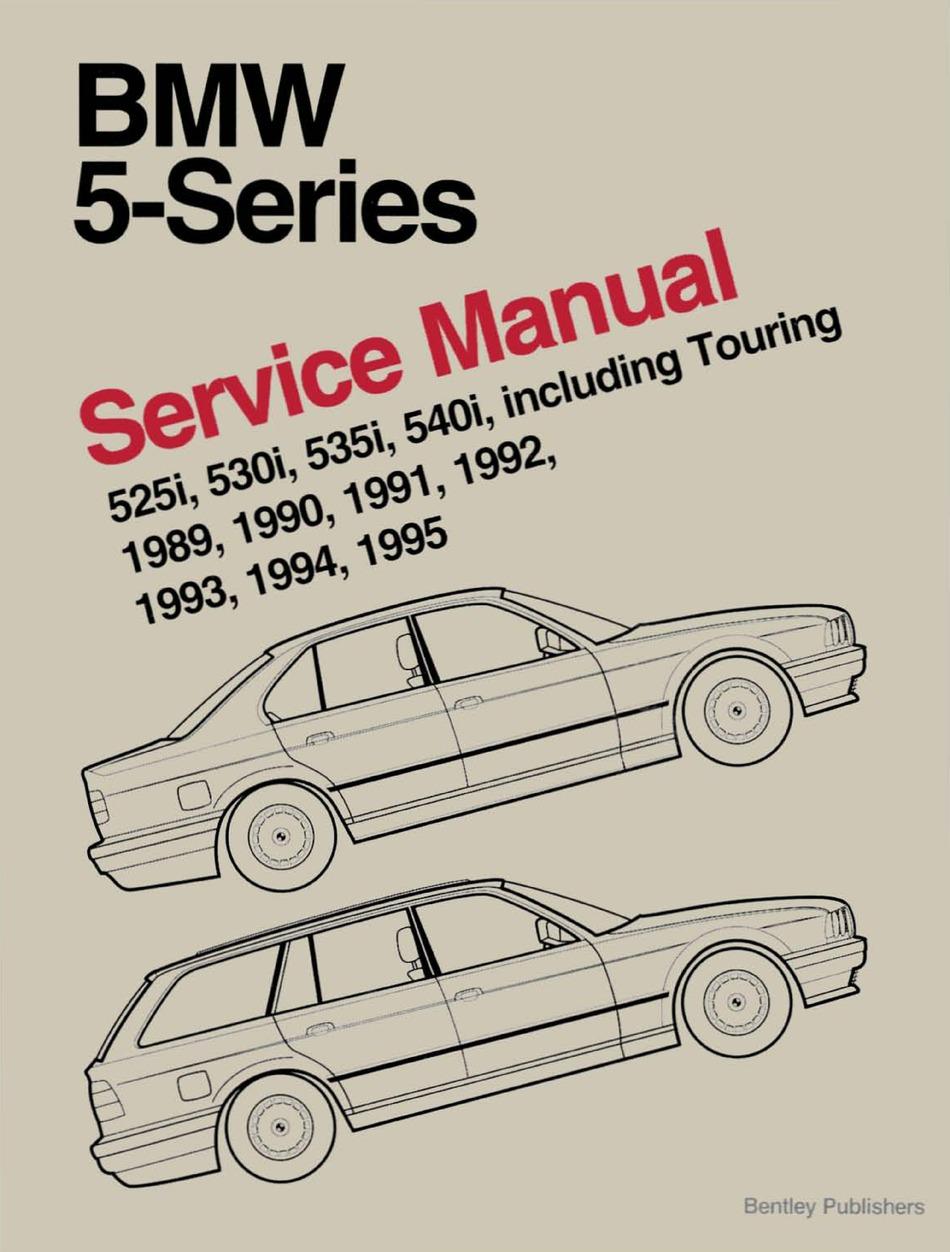 Bmw 1989 1995 525i Service Manual Pdf Download Manualslib