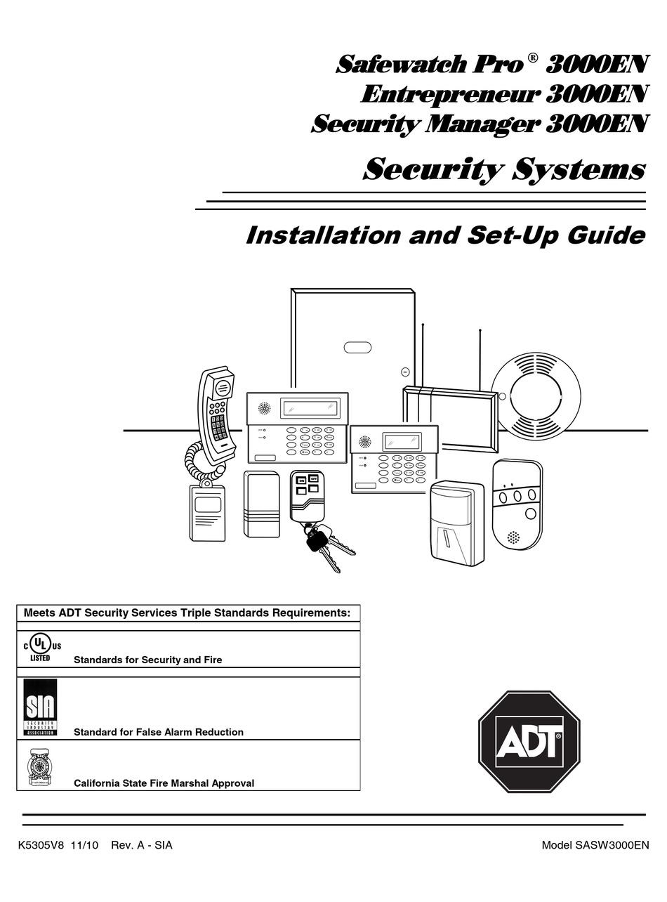 ADT SAFEWATCH PRO 3000EN INSTALLATION AND SETUP MANUAL Pdf Download |  ManualsLib | Adt Safewatch Pro 3000 Wiring Diagram |  | ManualsLib