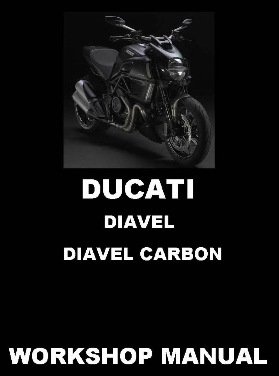 Ducati Diavel Workshop Manual Pdf Download Manualslib