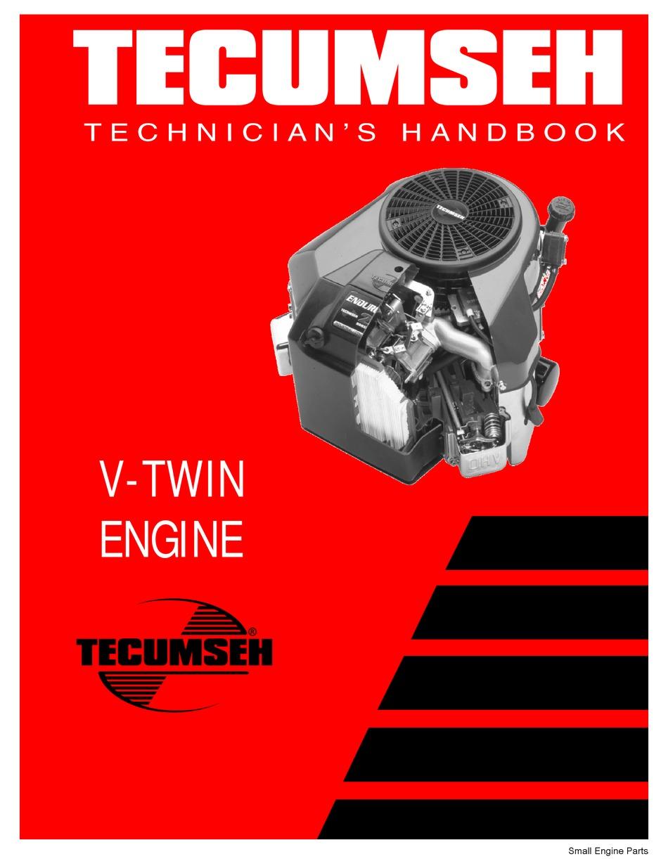 Tecumseh V Twin Technician S Handbook Pdf Download Manualslib