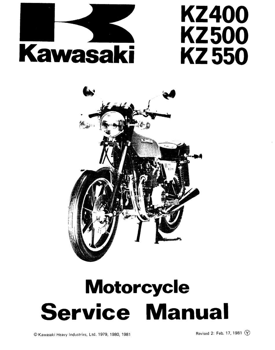 kawasaki kz400 service manual pdf download | manualslib  manualslib