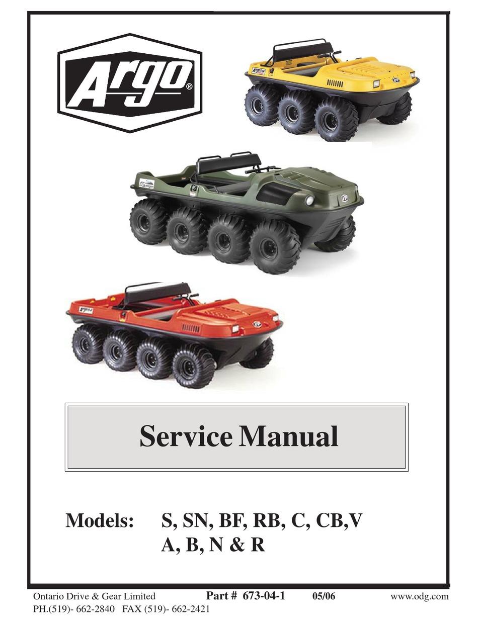 Argo S Service Manual Pdf Download Manualslib